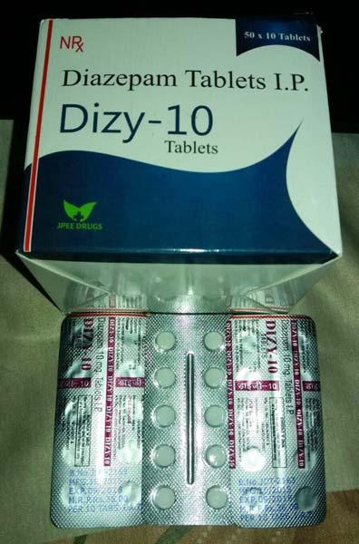 Diazepam mg 10 mg