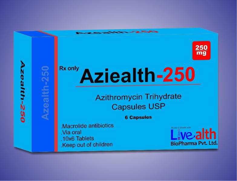 Servispor 250mg azithromycin