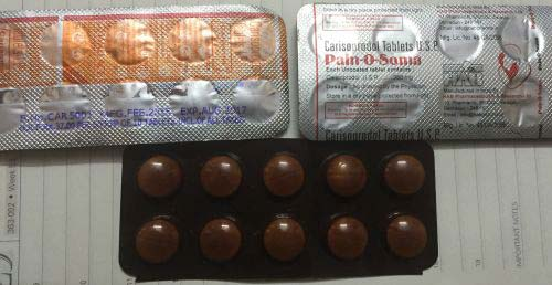 Carisoprodol manufacturers in india