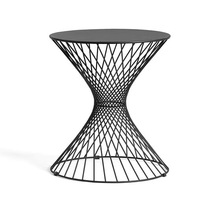 Black Wire Side Table