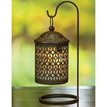 bronze moroccan lantern