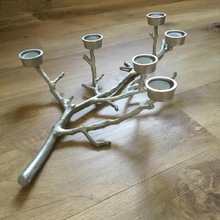 IRON MULTIPLE CANDLEs HOLDER
