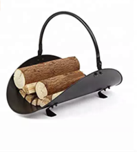 Metal Decor Fire Log Holder