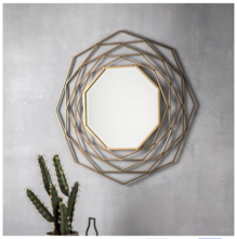 Metal Wire Wall Mirror