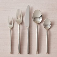 Royal Black Brass Cutlery Set