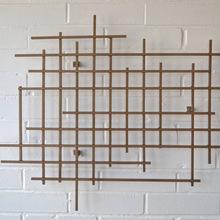 Wall Art Metal Stick