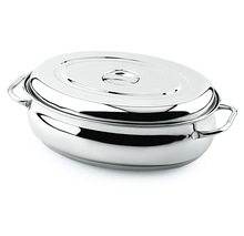 Oval Roaster With Dome Lid