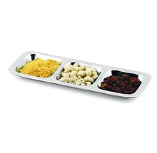 three COMPARTMENT TRAY