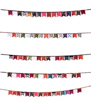 fabric party wall hanging