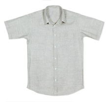 Pure cotton mens summer linen t shirt