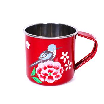 rose flower coffee mug