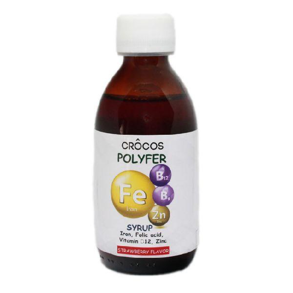 Crocos Polyfer Syrup