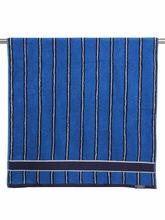 Luxury Hotel Stripe Pool Towels