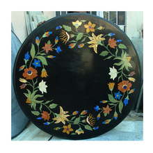 Marble Inlay Console Table Top