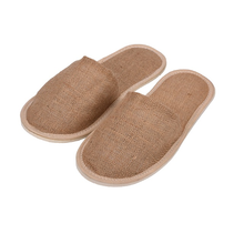 Premium Disposable Original Color Jute Slipper