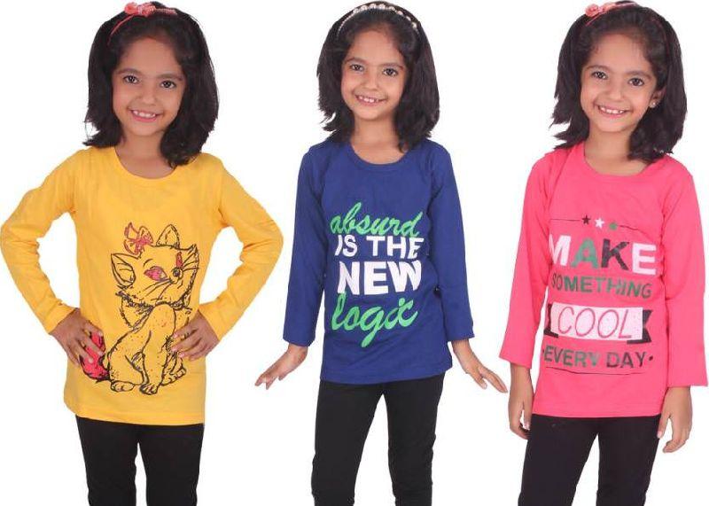 Girls Full Sleeve T-Shirts