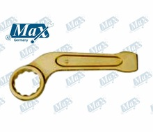 Non Sparking Bent Ring Slogging Wrench