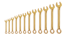 Non Sparking combination spanner set