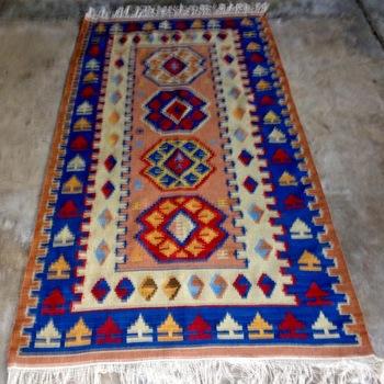 Flat weave woolen Kilim
