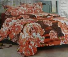 Cotton 3D bed sheet set blanket