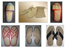 Jute hotel slippers