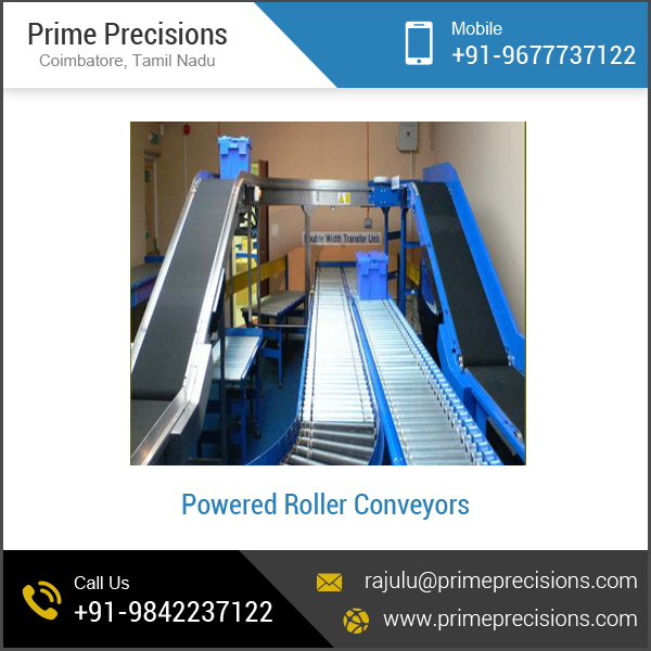 Buy powered roller conveyors from Prime Precisions, Coimbatore