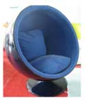 Fiber Glass Ball Chair