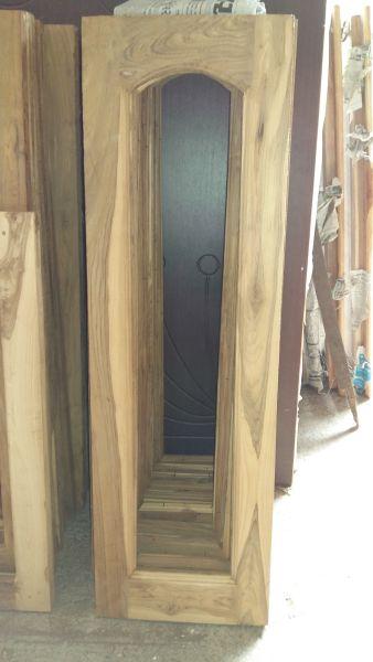 Teak Wood Door Window Frames Manufacturer In Jamnagar