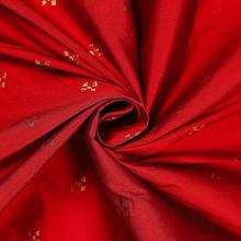 dressmaking antique taffeta silk red fabric