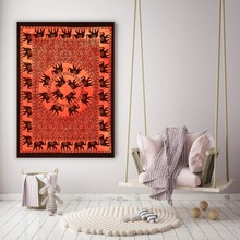 Elephant Tapestry Wall Hanging