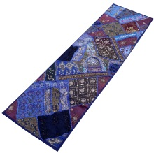 embroidered patchwork ethnic wall hanging