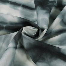 Hand block print cotton voile tie dye shibori Fabric