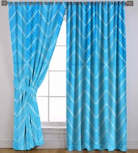 hand tie dye shibori curtain