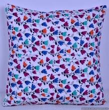 Hippie decorative floral cushion cover