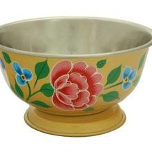 steel serwing bowl