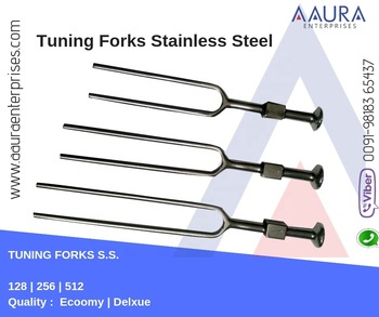 TUNING FORK STAINLESS STEEL