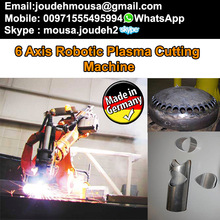 industrial robotics plasma cutting machine