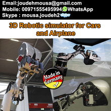 robotic simulator for cars and airplane