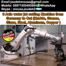 Robotic water jet cutting Machine