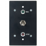 Flush Mount Interview Room Wall Switch