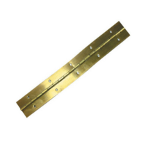 Brass Plated Piano Hinges