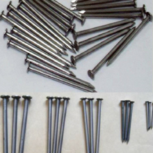 Common Round iron wood nails