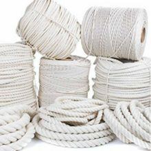 Cotton Rope Braided and Twisted