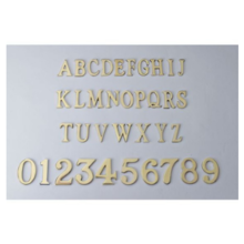 Heavy Duty Brass Door Numerals