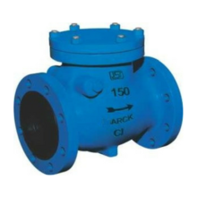 Reflux Valve Bolted Cover