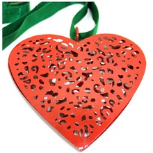 Beautiful Red Christmas Heart