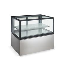Cold Frozen Food Display Stand Freezer