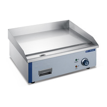 Commercial Electric Chrome Flat Griddle