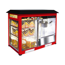 Electric Popcorn Machine with Warming Showcase Snack