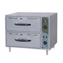 stainless steel Drawer Warmer Cabinet